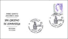 SANTIAGO - AÑO SANTO JACOBEO 2004. Messina, Italia - Cristianismo
