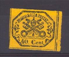 02907  -   Italie  -  Eglise  :  Yv  17  * - Etats Pontificaux
