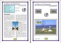 Planche Album Expo : France 2007 : 4117 Phare De Chassiron - Afgedrukte Pagina's
