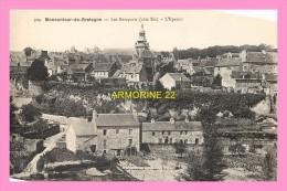 CPA  MONCONTOUR DE BRETAGNE  Les Remparts  L éperon - Moncontour