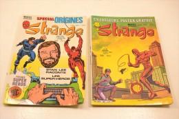 STRANGE, Numéro 142 AVEC Poster !! + Hors Série 142 Bis, Octobre 1981. Daredevil - Strange
