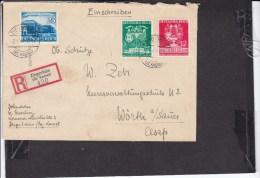 Deutsches Reich Einschreibbrief 1941 Stempel Ziegenhain - Briefe U. Dokumente
