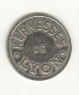 Jeton Kermesse De Lyon - Amusement - Attractions - Firma's