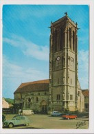 CPM - MAULE - L'église St Saint Nicolas - Voiture Ancienne Citroen 2 Cv Chevaux Hy Rallongé Renault 4 L Peugeot 304 Cab - Maule