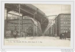 New York City  Elevated Rail 8th 110 Th Street - New York City