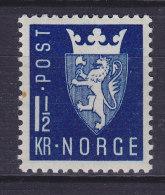 Norway 1945 Mi. 303     1.50 Kr Wappen MH* - Norwegen