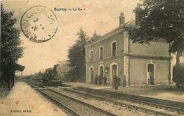 41 - 241115 - BOURSAY - La Gare - Locomotive - France