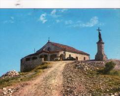 P3186 MONTE PENICE (Piacenza) - la vetta e il santuario N.S. del Penice - santuario, chiesa, auto cars voitures