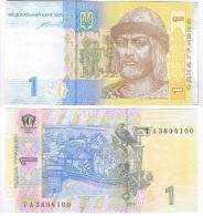 Ukraine - 1 Hryvnia 2014 UNC Lemberg-Zp - Ukraine