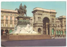 RE243     Milano - Galleria E Monumento A Vitt. Emanuele II - Milano (Milan)