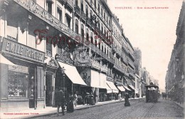 (31) Toulouse - Rue D'Alsace Lorraine - Magasin E. Porchez - Tram Tramway - 2 SCANS - Toulouse