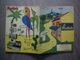 SAINT QUENTIN BERTHOLD 47 RUE D'ISLE ALBUM A COLORIER RADIOLA - Publicités