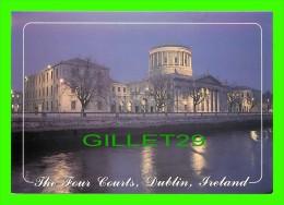 DUBLIN, IRELAND - THE FOUR COURTS AT NIGHT - PHOTO, TOM CLEARY - JOHN HINDE - - Dublin