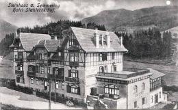 Steinhaus Am SEMMERING (NÖ) / Hotel Stuhleckerhof, Gel.1923 - Semmering
