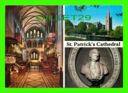DUBLIN, IRELAND - ST PATRICK´S CATHEDRAL - 3 MULTIVIEWS - JOHN HINDE - - Dublin