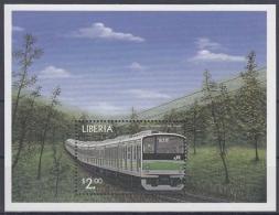 Liberia MiNr. Bl. 222 ** Lokomotiven Aus Aller Welt - Liberia