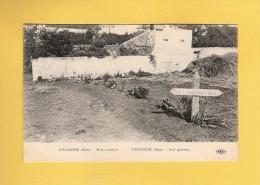 * CPA..dépt 77..PUISIEUX  :  Nos Tombes   : Voir  Les 2 Scans - Autres Communes