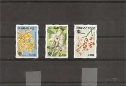 Bhoutan -Fleurs ( 902/904 XXX -MNH) - Bhutan
