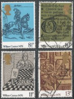 Great Britain. 1976 500th Anniv Of British Printing. Used Complete Set. SG 1014-1017 - Used Stamps