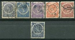 INDES NEERLANDAISES - Y&T 48, 49, 55 à 57 Et 68 - Niederländisch-Indien