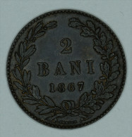 "Roumanie Romania Rumänien 2 Bani 1867 "" HEATON "" AUNC - Rumania"