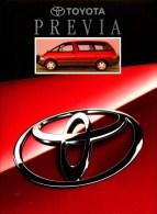 Catalogue - Toyota Previa (1993)
