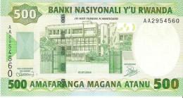 Rwanda - Pick 30 - 500 Francs 2004 - Unc - Rwanda