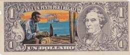 BANCONOTE - GRANDI RACCOLTE DI FIGURINE /  EDIS TORINO - ANNO 1972 SERIE WESTERN _ 1 DOLLARO - Beeldjes