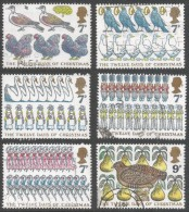 Great Britain. 1977 Christmas. Used Complete Set. SG 1044-1049 - Used Stamps