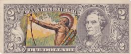 BANCONOTE - GRANDI RACCOLTE DI FIGURINE /  EDIS TORINO - ANNO 1972 SERIE WESTERN _ 2 DOLLARI - Figurines