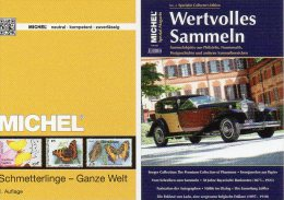 MlCHEL Schmetterlinge+Wertvolles Sammeln No.2 New 79€ Catalogue 2015 Topic Butterfly And New Special Magacine Of Germany - Vieux Papiers