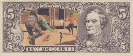 BANCONOTE - GRANDI RACCOLTE DI FIGURINE /  EDIS TORINO - ANNO 1972 SERIE WESTERN _ 5 DOLLARI - Figurines