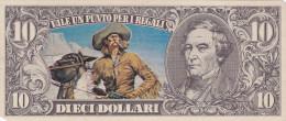 BANCONOTE - GRANDI RACCOLTE DI FIGURINE /  EDIS TORINO - ANNO 1972 SERIE WESTERN _ 10 DOLLARI - Figurines