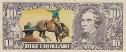 BANCONOTE - GRANDI RACCOLTE DI FIGURINE /  EDIS TORINO - ANNO 1972 SERIE WESTERN _ 10 DOLLARI - Beeldjes