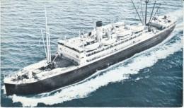 S.S. 'Denali' The Alaska Line Cruise Ship Ocean Liner, C1950s Vintage Postcard - Dampfer
