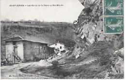 SAINT JUNIEN - Les bords de la Glane au Bas-Moulin