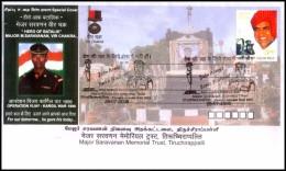 India, 2008, Kargil War, Special Cover, JOIN ARMY; SERVE NATION, Hero Of Batalik, Military, Martyr, Militaria, Medal. - Militaria