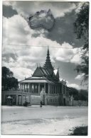 - 112 - SOUVENIR D´INDOCHINE - Cambodge, Phnom Penh, Le Palais Royal, Salle De Dance, Glacée, TTBE, ScansLe - Cambodge