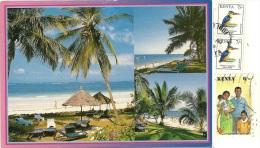 KENYA  KENIA   Indian Ocean Paradise  Nice Stamps - Kenia