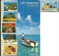 MAURITIUS  MAURICE  Pointe D'Esny  Nice Stamp Fish Theme - Mauritius