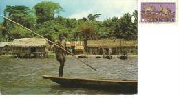 NIGERIA  LAGOS  Fishing Village Along Epe Lagoon - Nigeria