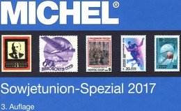 Sowjetunion Spezial Briefmarken Michel Katalog 2017 Neu 150€ Porto/Lokal/Gebühren-Marken Catalogues USSR CCCP SU - Bücher, Zeitschriften, Comics