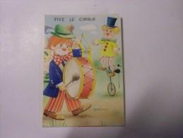 Vive Le Cirque  Clonn Et Equilibriste - Humour