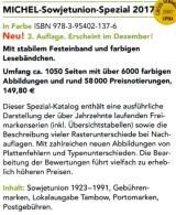 Sowjetunion Spezial Briefmarken Michel Katalog 2017 Neu 150€ Porto/Lokal/Gebühren-Marken Special Catalogues USSR CC - Libros & Cds