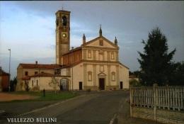 Vellezzo Bellini (PV) - Chiesa SS. Bartolomeo E Nicolò N Nv - Pavia