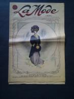 LA MODE du petit journal, v�tement en fourrure, patron d�coup� gratuit d'une blouse pour gar�onnet de 6 � 7 ans