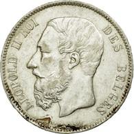 Belgique, Léopold II, 5 Francs 1869, KM 24