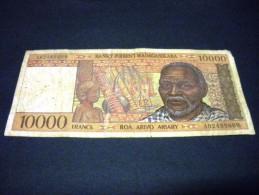 MADAGASCAR 10000 Francs/ 2000 Ariary 1995, Pick N°79 A, MADAGASCAR - Madagaskar