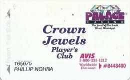 Palace Casino Biloxi MS 2nd Issue Slot Card - Casino Cards