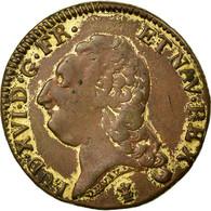 Monnaie, France, Louis D'Or, 1780, Lille, TTB, Cuivre, Gadoury:361 - 1774-1791 Louis XVI